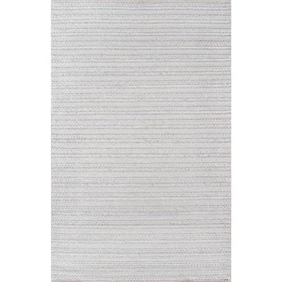 Andes Light Grey 7 ft. 9 in. X 9 ft. 9 in. Indoor Area Rug