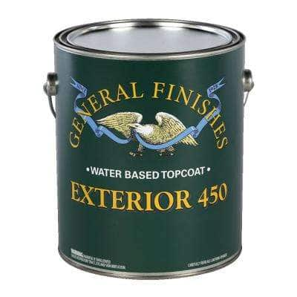 1 qt. Gloss Exterior 450 Clear Varnish Topcoat