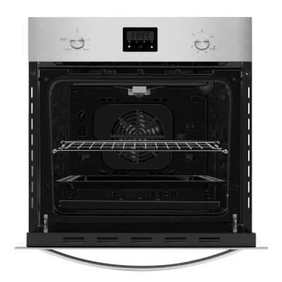 24 in. Single Gas Wall Oven with Convection in Stainless Steel