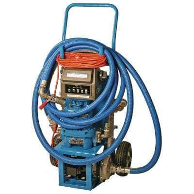 Bottom Draw DEF Mini Transfer Cart with 1-14 in. x 15 ft. Suction Hose