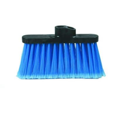 Light Industrial Blue Duo-Sweep Replacement Broom Head (Case of 12)