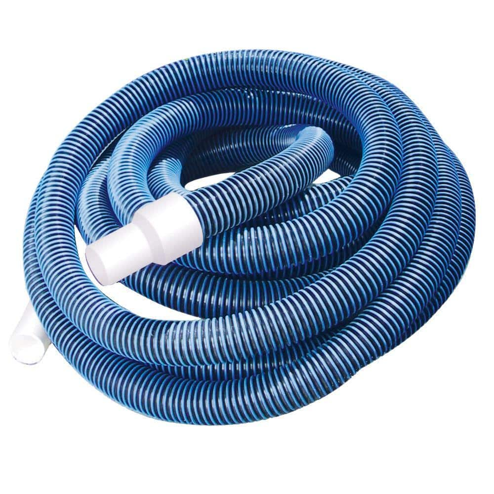 Pool Shop 1 1 2 In X 35 Ft Swimming Pool Vacuum Hose 69435 The Home Depot
