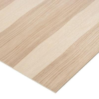 1/4 in. x 1 ft. x 1 ft. 7 in. Hickory PureBond Plywood Project Panel 2-Sided (10-Pack)