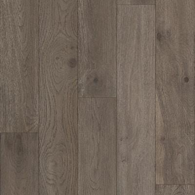 Oak Dexter 1/4 in. T x 5 in. W x Varying Length Waterproof Engineered Hardwood Flooring (16.68 sq. ft.)