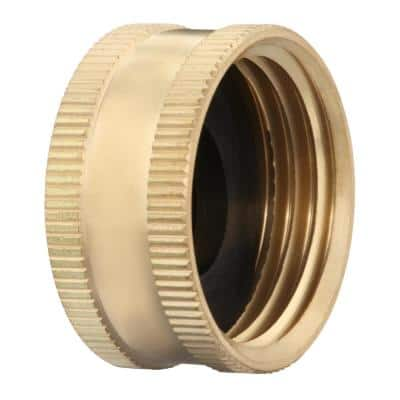 3/4 in. FHT Brass Cap Fitting