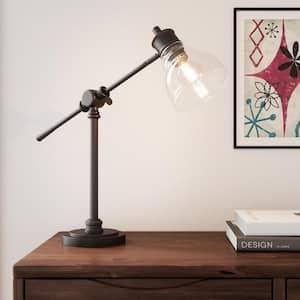 18.25 in. Oil Rubbed Bronze Counter Balance Desk Lamp