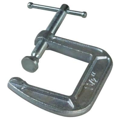 CM Series 1-1/2 in. Drop Forged C-Clamp with 1-1/2 in. Throat Depth