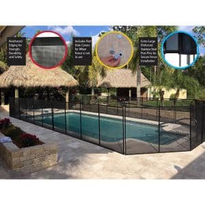 Waterwarden In Ground Pool Safety Fence Wwf200 The Home Depot