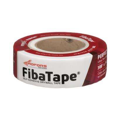 FibaTape Perfect Finish 1-7/8 in. x 300 ft. Self-Adhesive Mesh Drywall Joint Tape