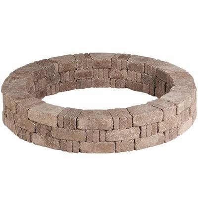 RumbleStone 59 in. x 10.5 in. Tree Ring Kit in Cafe