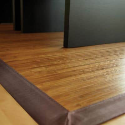 Contemporary Chocolate Brown 2 ft. x 3 ft. Area Rug