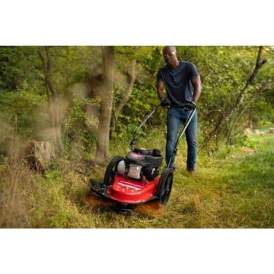 22 in. 140 cc Gas Walk Behind String Trimmer Mower