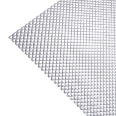 Acrylic Prismatic Clear 2ft. x 2ft. Lay-In Ceiling Light Panel