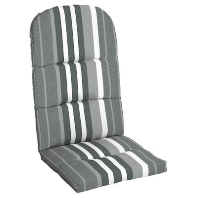 DriWeave 20.5 x 49 Petersburg Stripe Outdoor Adirondack Chair Cushion