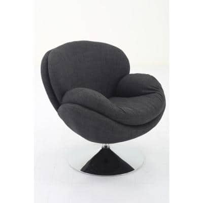 Strand Leisure Accent Chair in Anthracite Fabric