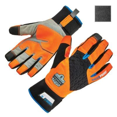 ProFlex 818WP X-Large Orange Performance Thermal Waterproof Utility Gloves