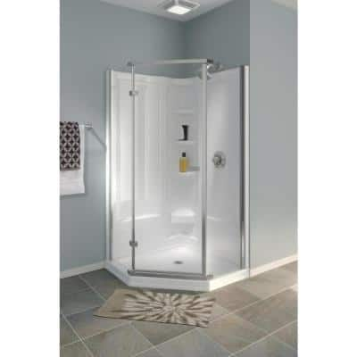 38 X 38 Shower Stalls Kits Showers The Home Depot