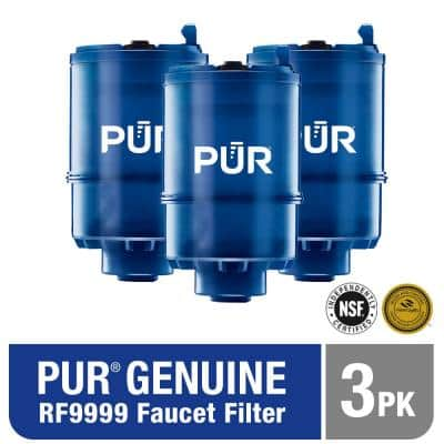 PLUS Mineral Core Faucet Mount Water Filter Replacement (3-Pack)