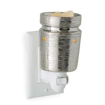5.7 in Brushed Chrome Pluggable Fragrance Warmer