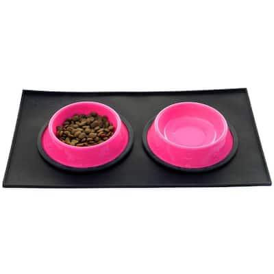 Food & Water Feeding Mat