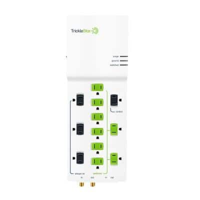 4 ft. 12-Outlet Advanced and Energy Saving Surge Protector