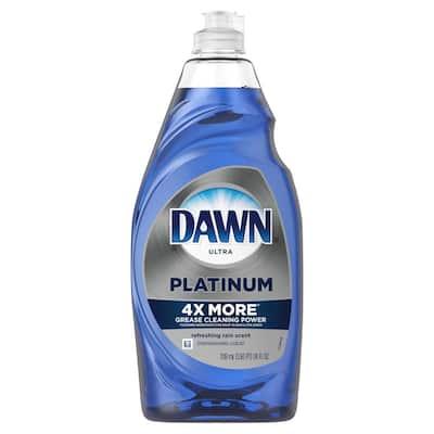 24 oz. Ultra Platinum Refreshing Rain Scent Dishwashing Liquid