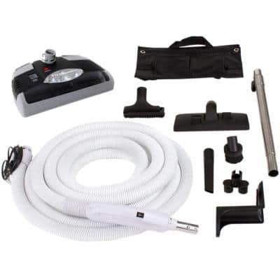 Prolux 35 ft. Central Vacuum Hose Kit for Beam, Electrolux, Nutone, Hayden and All Brands with Carpet Power Head