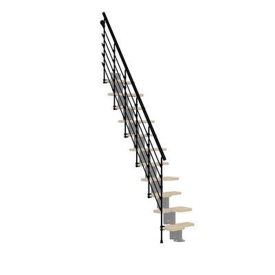 Oak30.Xtra Black 2nd Side Railing Kit
