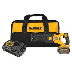 FLEXVOLT 60-Volt MAX Cordless Brushless Reciprocating Saw with (1) FLEXVOLT 9.0Ah Battery