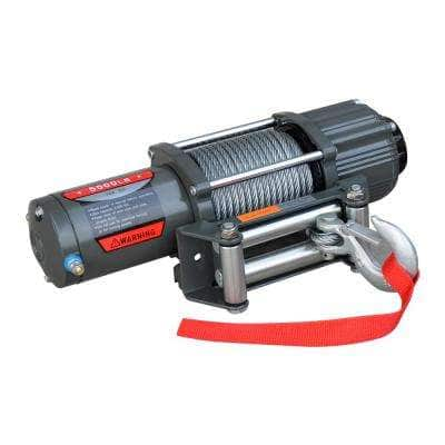 5500 lbs. ATV/Utility Electric Winch with Automatic Load-Holding Brake