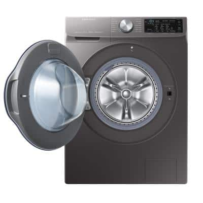 2.2 cu. ft. Capacity Front Load Washer with Steam in Gray, ENERGY STAR