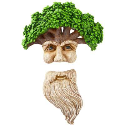 Tree Face Long Beard Old Man