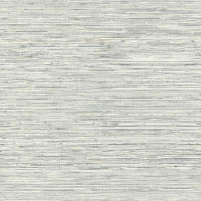Grasscloth Light Grey Vinyl Peel and Stick Wallpaper Roll (Covers 28.18 sq. ft.)
