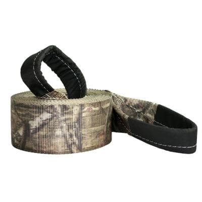 Mossy Oak Infinity Series 4 in. x 30 ft. Camo Recovery Strap