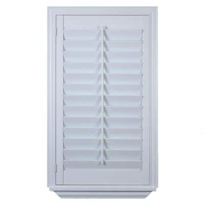 Installed Faux/Poly Shutter