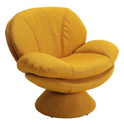 Comfort Chair Rio Straw Yellow Fabric Leisure Chair