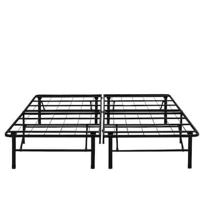 14 in. California King Metal Platform Bed Frame