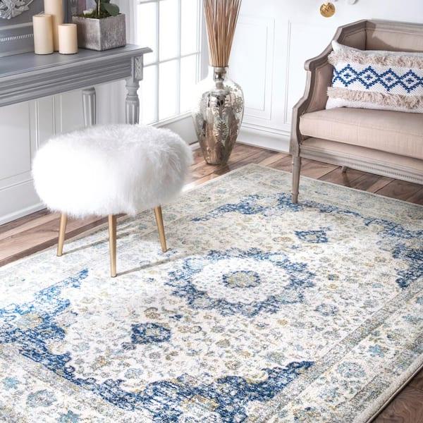 4.0\u00d77.0 ft Runner rug Blue vool rug Oushak vintage rug Kitchen decor rug Blue Turkish rug Anatolian rug Handwoven konya garpet  Oriental rug