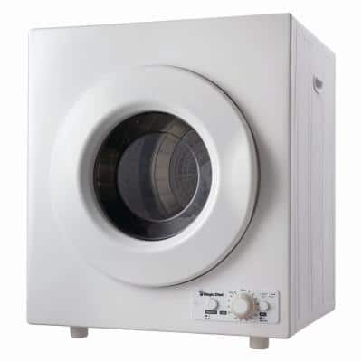 3.5 cu. ft. White Compact Electric Dryer
