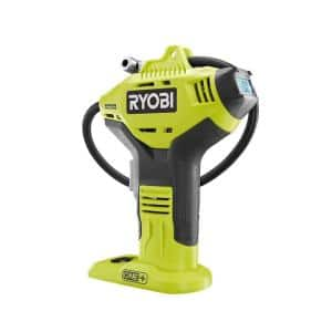ONE+ 18V Lithium-Ion Cordless High Pressure Inflator with Digital Gauge (Tool Only)