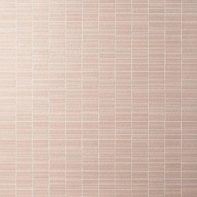 Angela Harris Harmony Deco Corallo 11.81 in. x 11.81 in. Satin Ceramic Mosaic Wall (0.96 sq. ft./Each)