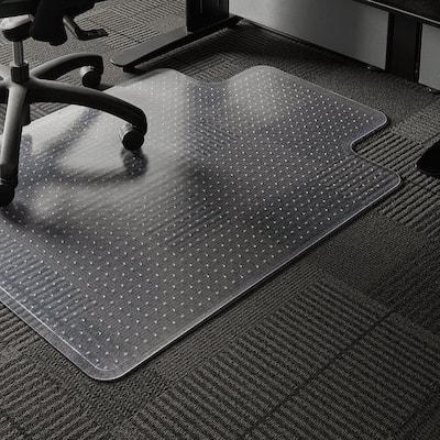 Professional Clear 36 in. x 48 in. Carpet Vinyl Chair Mat