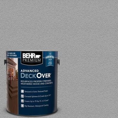 1 gal. #SC-365 Cape Cod Gray Textured Solid Color Exterior Wood and Concrete Coating