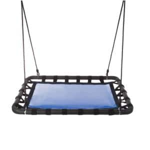 40 in. L x 30 in. W Platform Swing with Adjustable Rope