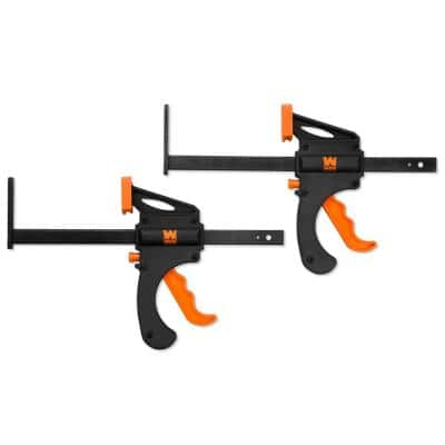 7.5 in. Quick Release Track Saw Clamps (2-Pack)