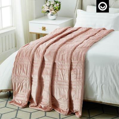 Ekon Blush Weighted Blanket 20 lbs. 72 in. x 80 in.