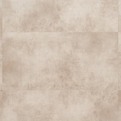 Duren 28mil Concreto Beige 18 in. x 36 in. Glue Down Luxury Vinyl Tile Flooring (36 sq. ft.)