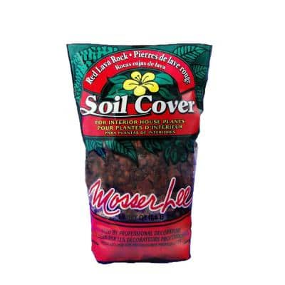 1.5 Qt. Red Lava Rock Soil Cover