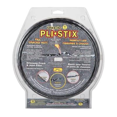 Pli-Stix 60 ft. Small Black Permanent Blacktop Joint and Crack Filler