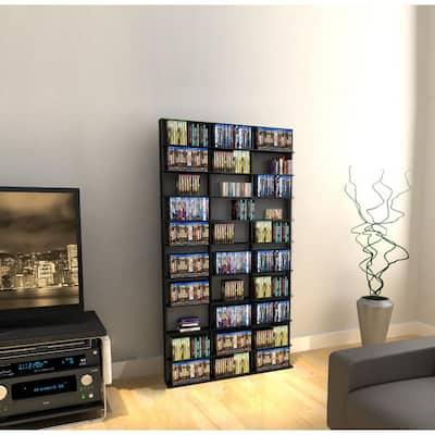 Oskar Adjustable Media Wall-Unit 1080 Espresso